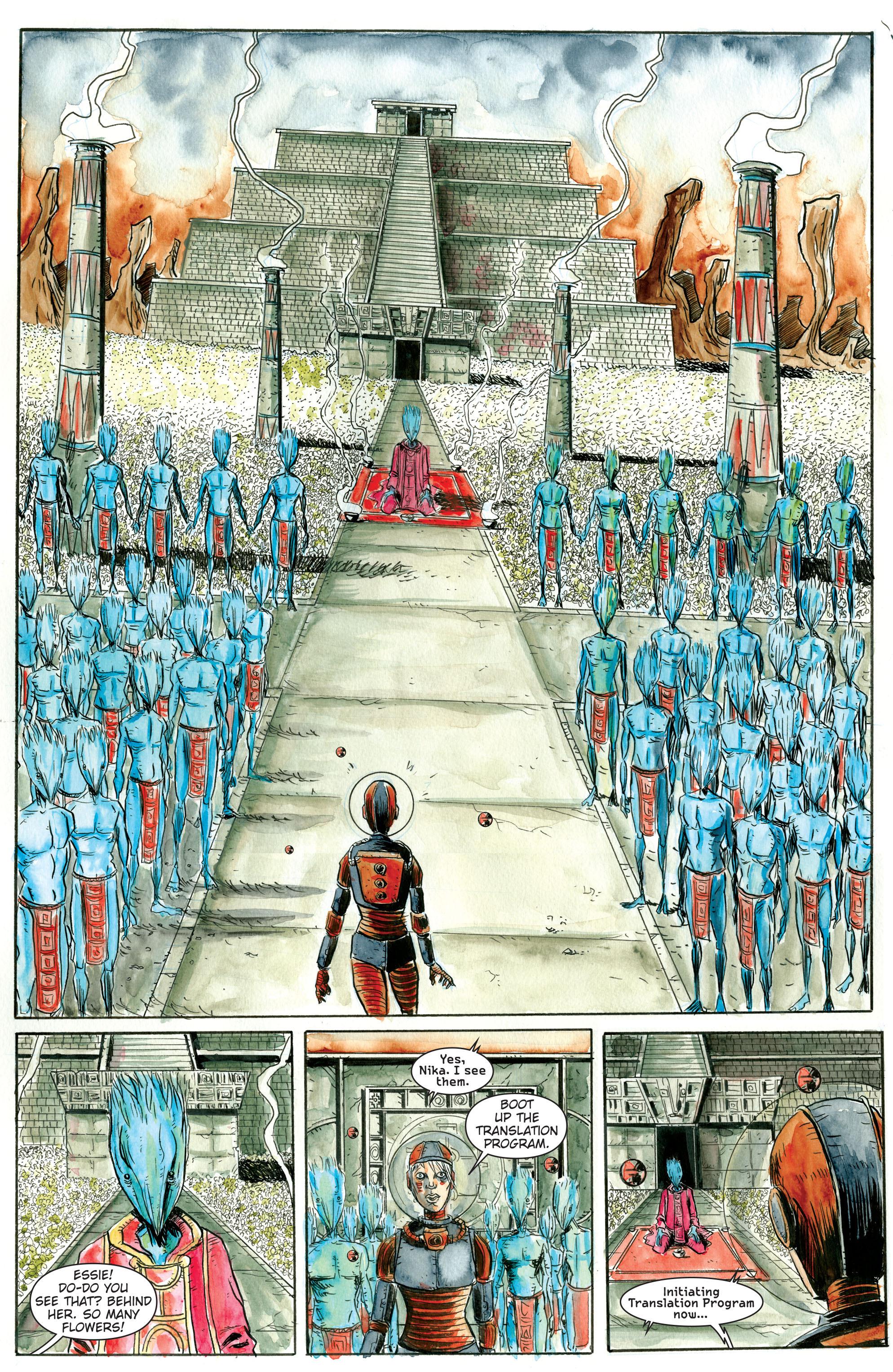 Read online Trillium comic -  Issue # TPB - 14