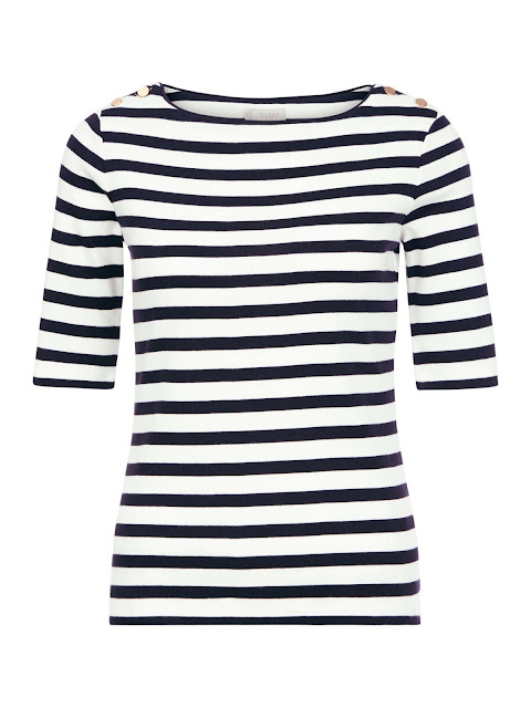 Hobbs Kate Stripe Top