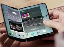 Inilah Ponsel Layar Lipat Dari Samsung
