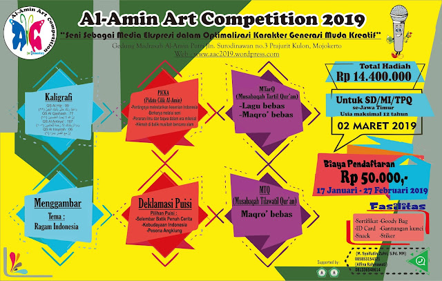 Event Al-Amin Art Competition 2019 SD Sederajat Se-Jawa Timur