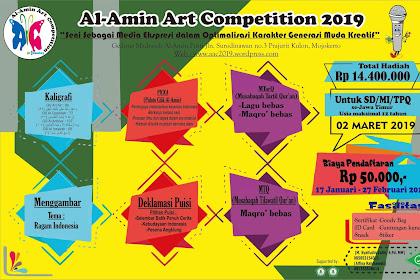 Event Al-Amin Art Competition 2019 SD Sederajat Se-Jawa Timur