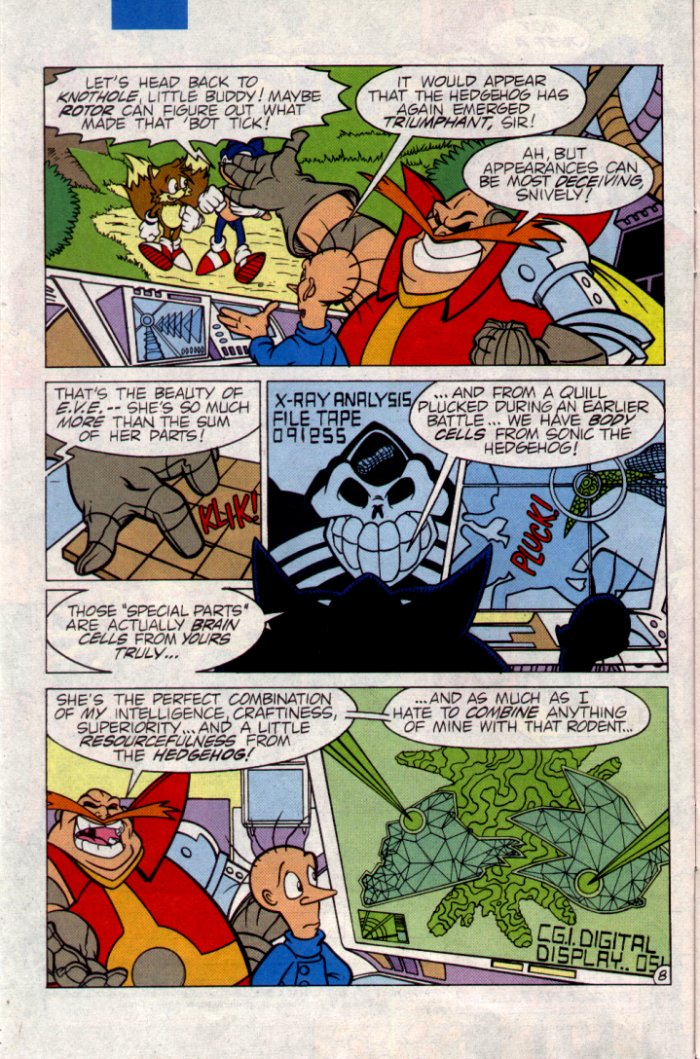 Read online Sonic The Hedgehog comic -  Issue #21 - 9