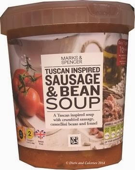 Marks & Spencer Sausage & Bean Tuscan Soup