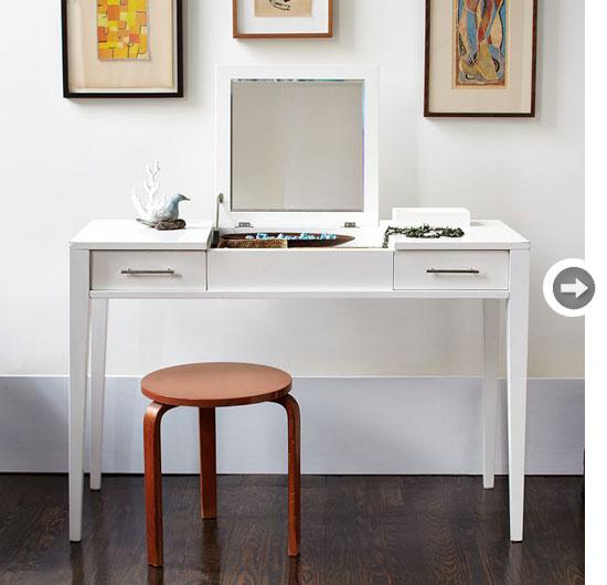 m ydeas decoration d 39 interieur a la recherche de la coiffeuse id ale. Black Bedroom Furniture Sets. Home Design Ideas