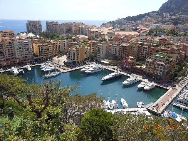 Vista de cima da Colina - Marina - Mônaco - Europa - Cidade Antiga