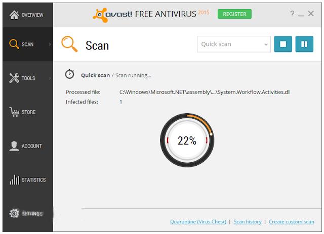 Avast Free Antivirus 10.4.2233