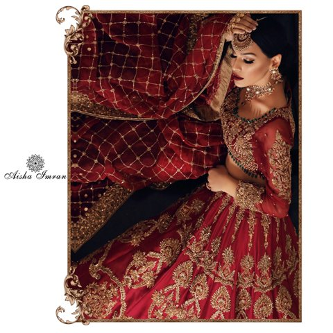 Aisha Imran Bridal Wear Collection With Price By Online