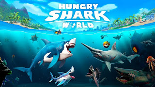 Hungry Shark World Mod Apk Unlimited Money, Gems Free Download