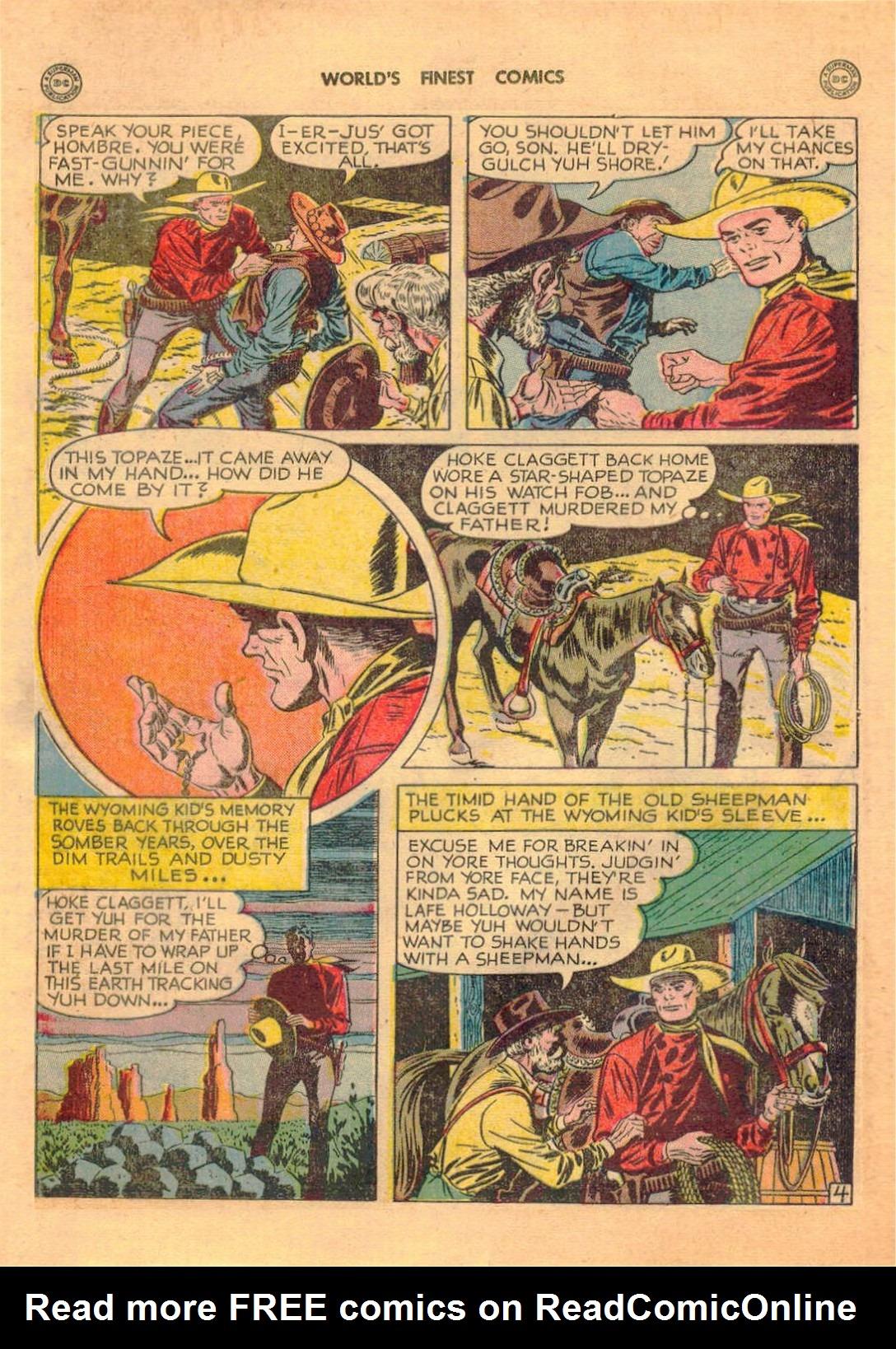 Read online World's Finest Comics comic -  Issue #42 - 40