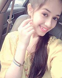 Actress Jannat Zubair Rahmani