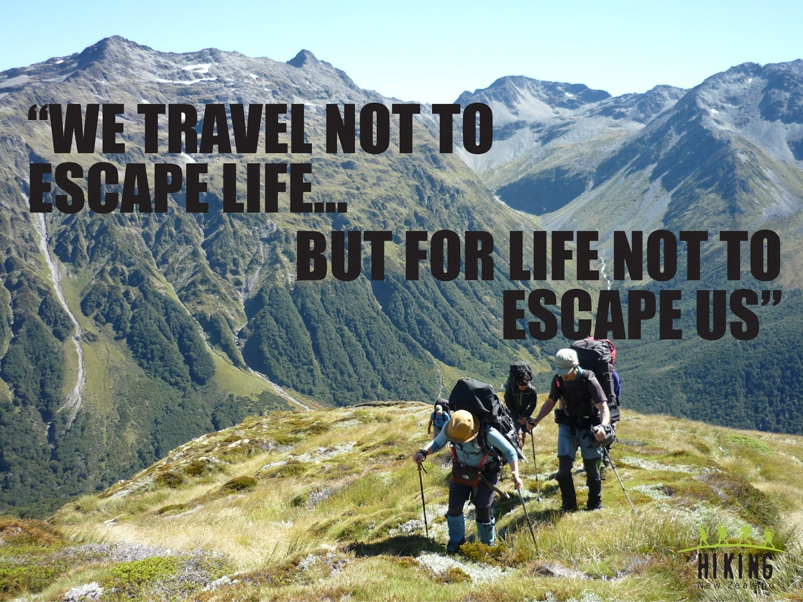 Inspirational Travel and Walking Quotes | Hiking NZ