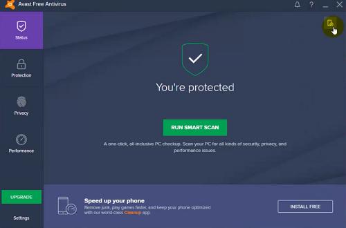 برنامج Avast Free Antivirus 2017 مع التفعيل القانوني لمدة سنة كاملة