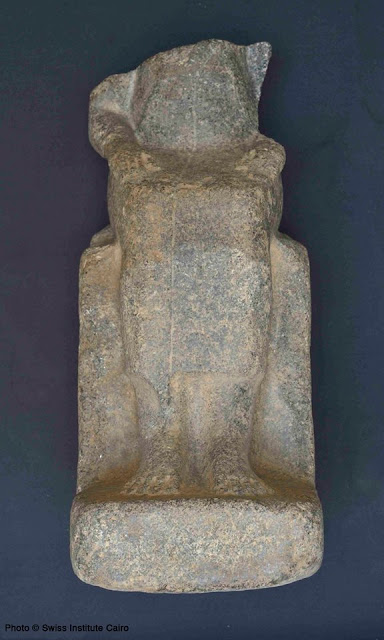 Ancient statues unearthed on Aswan's Elephantine Island