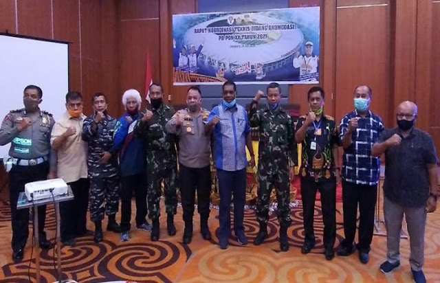 The Committee Of National Sports Week In Papua Continue To Improve Accommodation Data