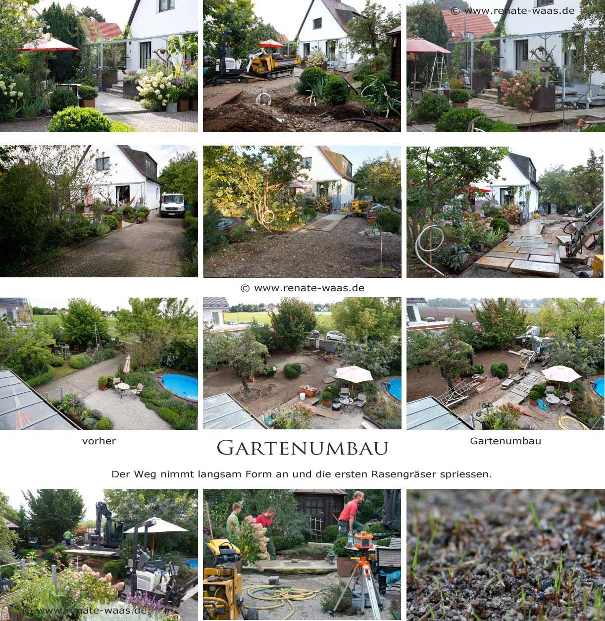 Bilder zur Gartenumgestaltung, Gartengestaltung München