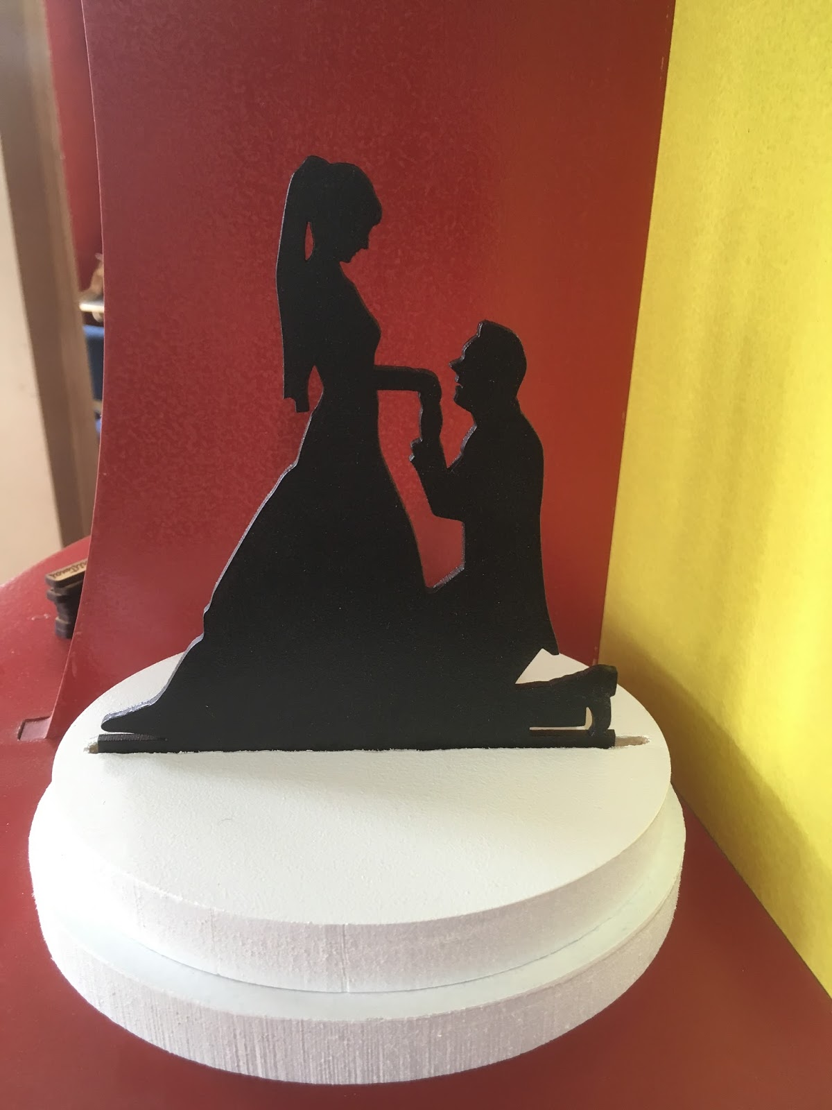 Naji s Craft Wedding cake topper No
