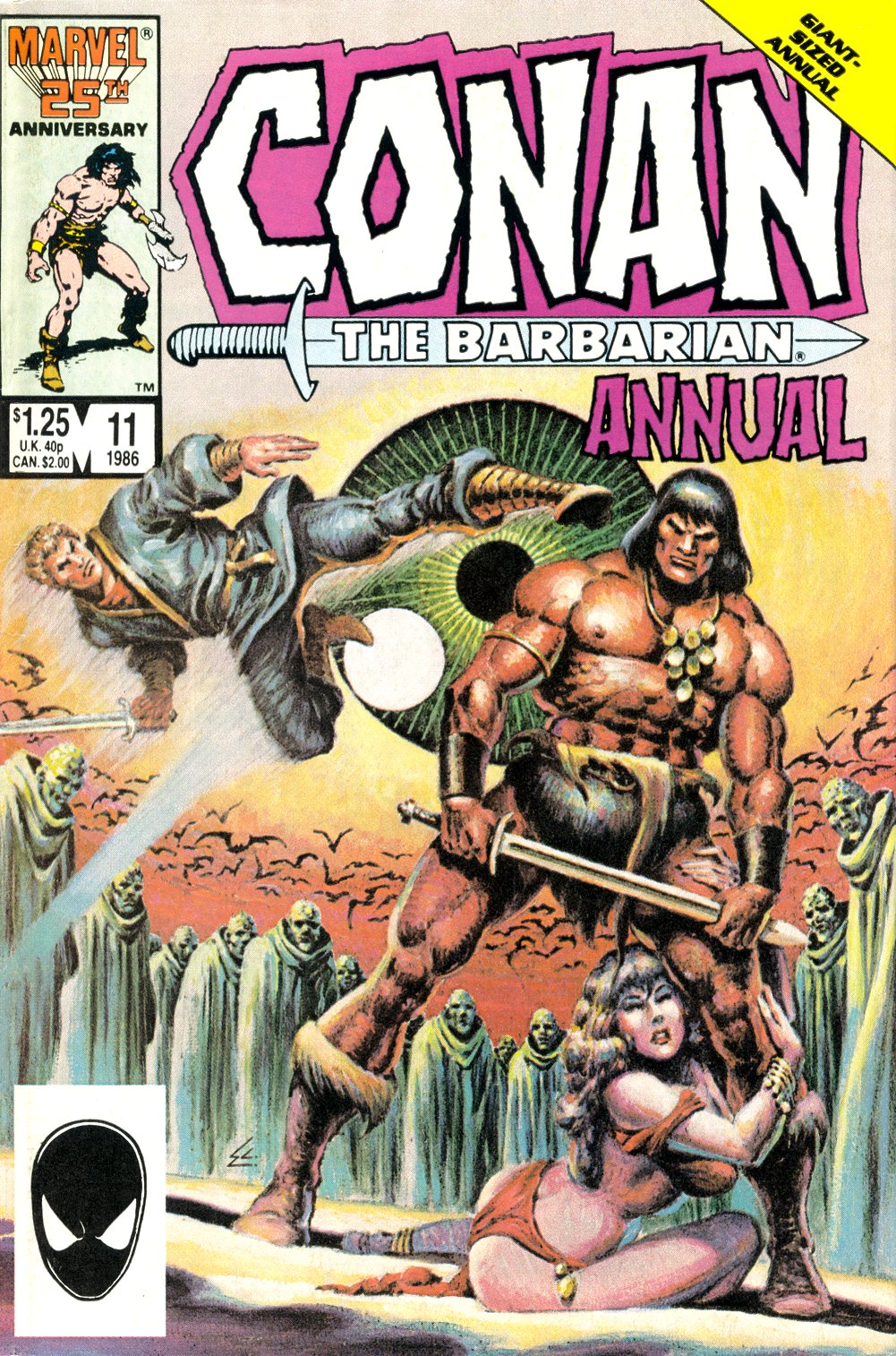 Conan the Barbarian (1970) Annual_11 Page 1