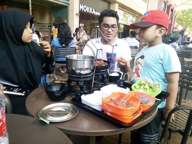 Di Raa Cha, Mau Makan Wajib Masak  Sendiri