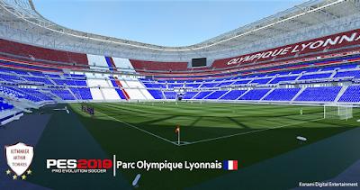 PES 2019 Stadium Parc Olympique Lyonnais by Arthur Torres