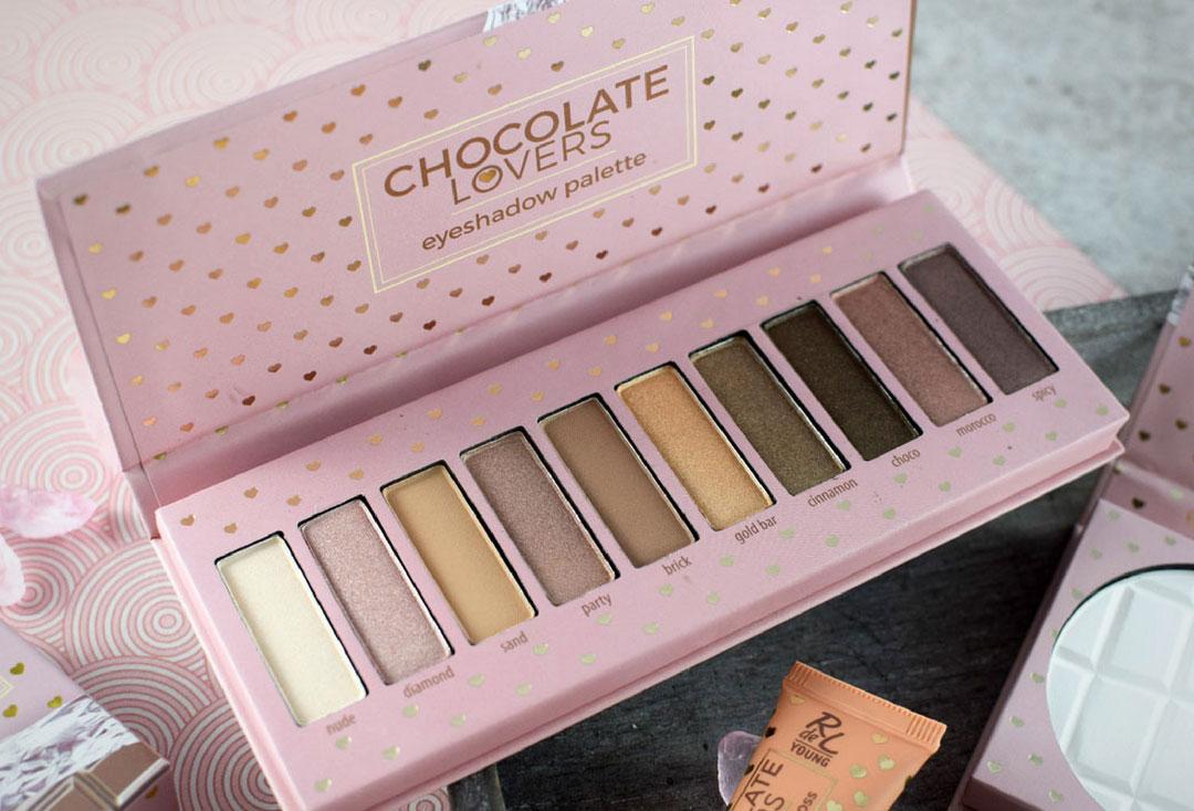 Chocolate Lovers LE Lidschatten Palette