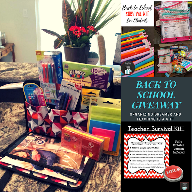 Back to School Survival Kits for Students and Teachers from Teaching Is A Gift