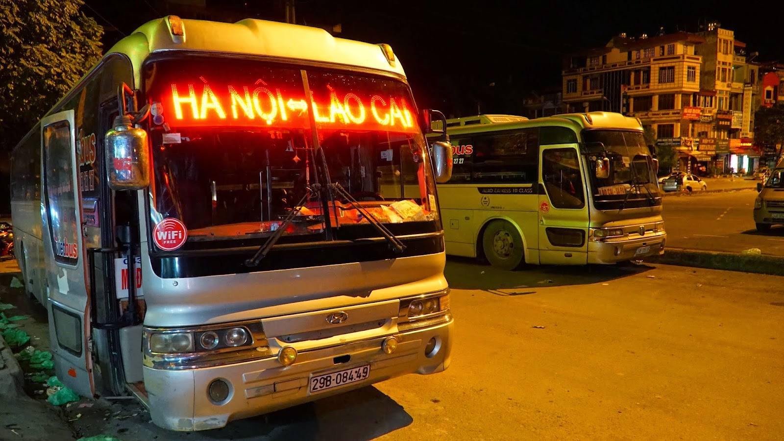Arrival in Lao Cai