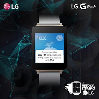 El reto del tiempo LG - Gana un SmartWatch
