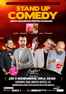 Stand-Up Comedy Joi 3 Noiembrie Bucuresti