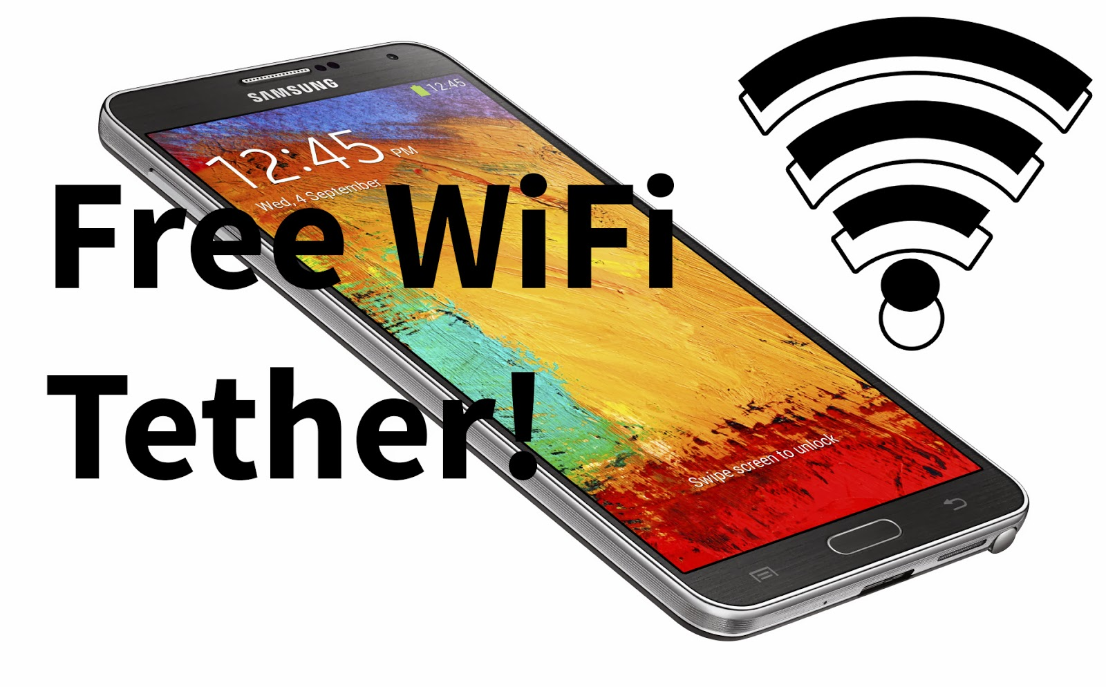 How to Get Free WiFi Tether for AT&T and Verizon Galaxy Note