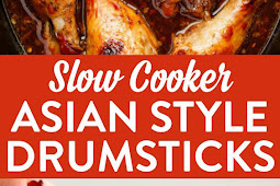Slow Cooker Asian Style Drumsticks
