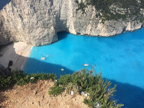 Smugglers' Cove, Zakynthos, Greece