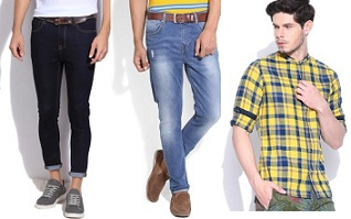 Flat 40% – 80% Discount on Benetton, Levis, Arrow, Wrangler, Integriti & more @ Flipkart