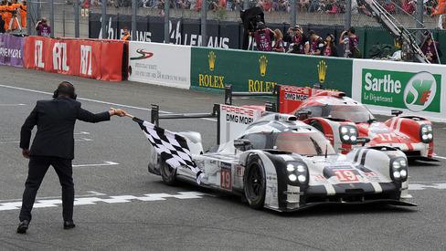 Porsche Hybrid Defeats Audi At 83rd Le Mans