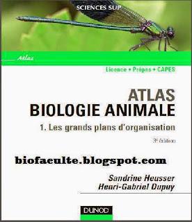 Biologie animale livre