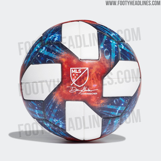74235b87d Futuristic Adidas Nativo Questra MLS 2019 Ball Released - Inspired ...