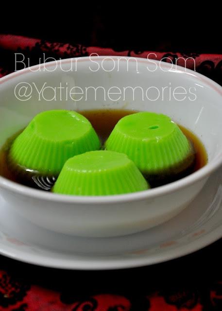 Resepi Bubur Som Som Azie Kitchen Aneka Resepi Bunda