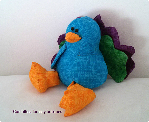 Con hilos, lanas y botones: Tully the Turkey (Sweetbriar Sisters pattern)