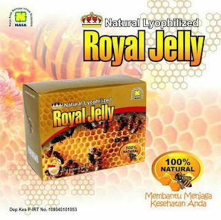 Cara Minum Paket Stroke Royal Jelly