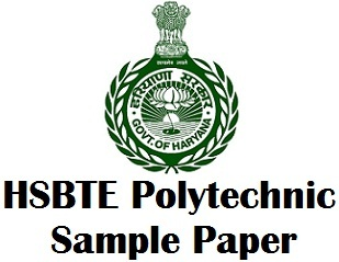 HSBTE Diploma Sample Questions Papers