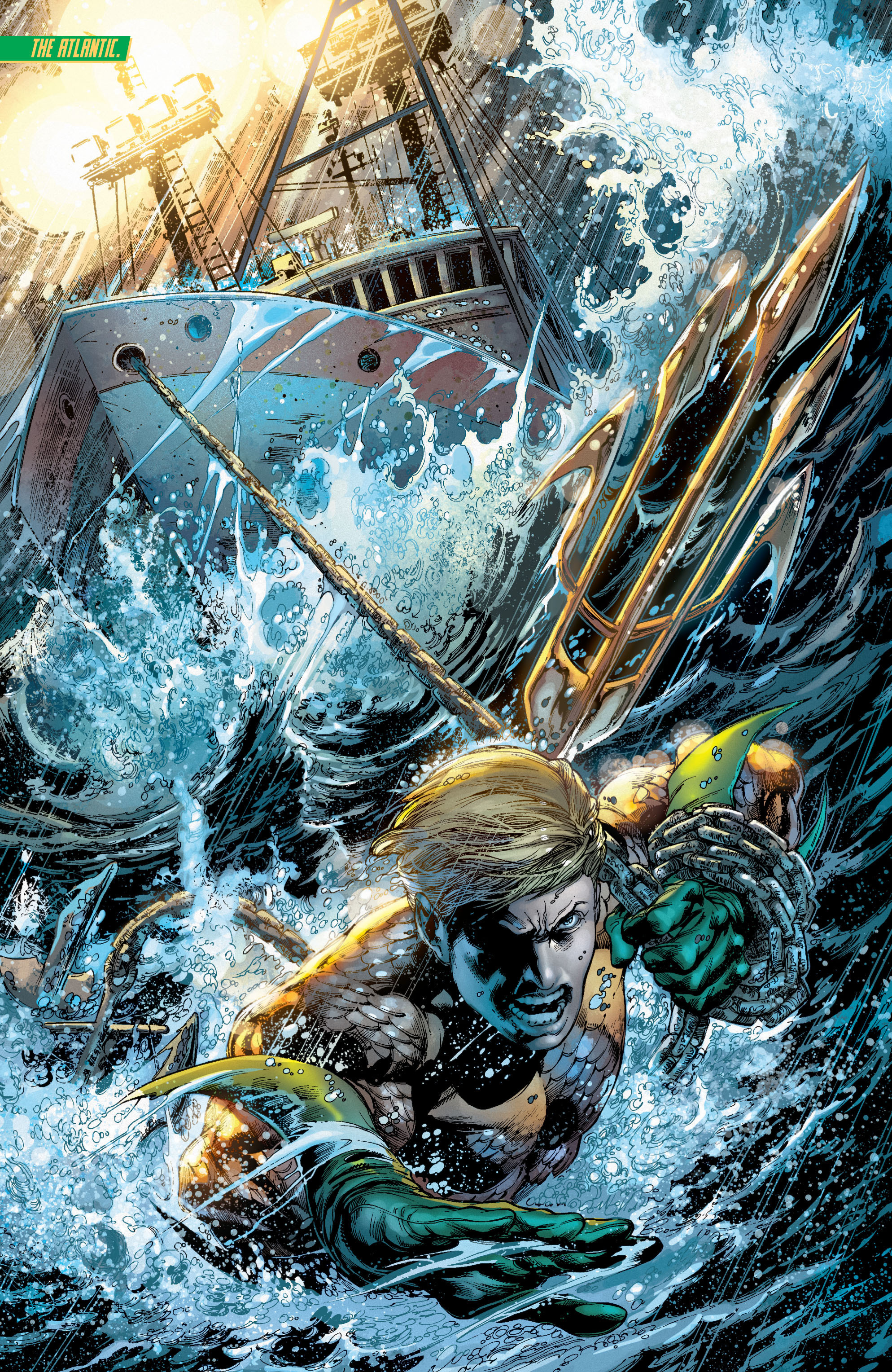Read online Aquaman (2011) comic -  Issue #7 - 12