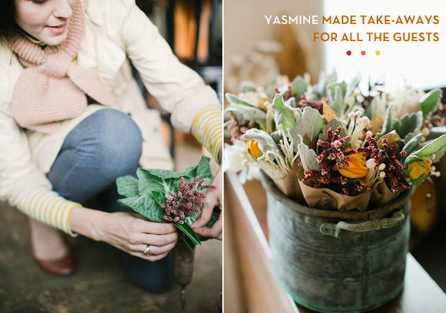 Yasmine Floral Design In The Salon Yolk Flour