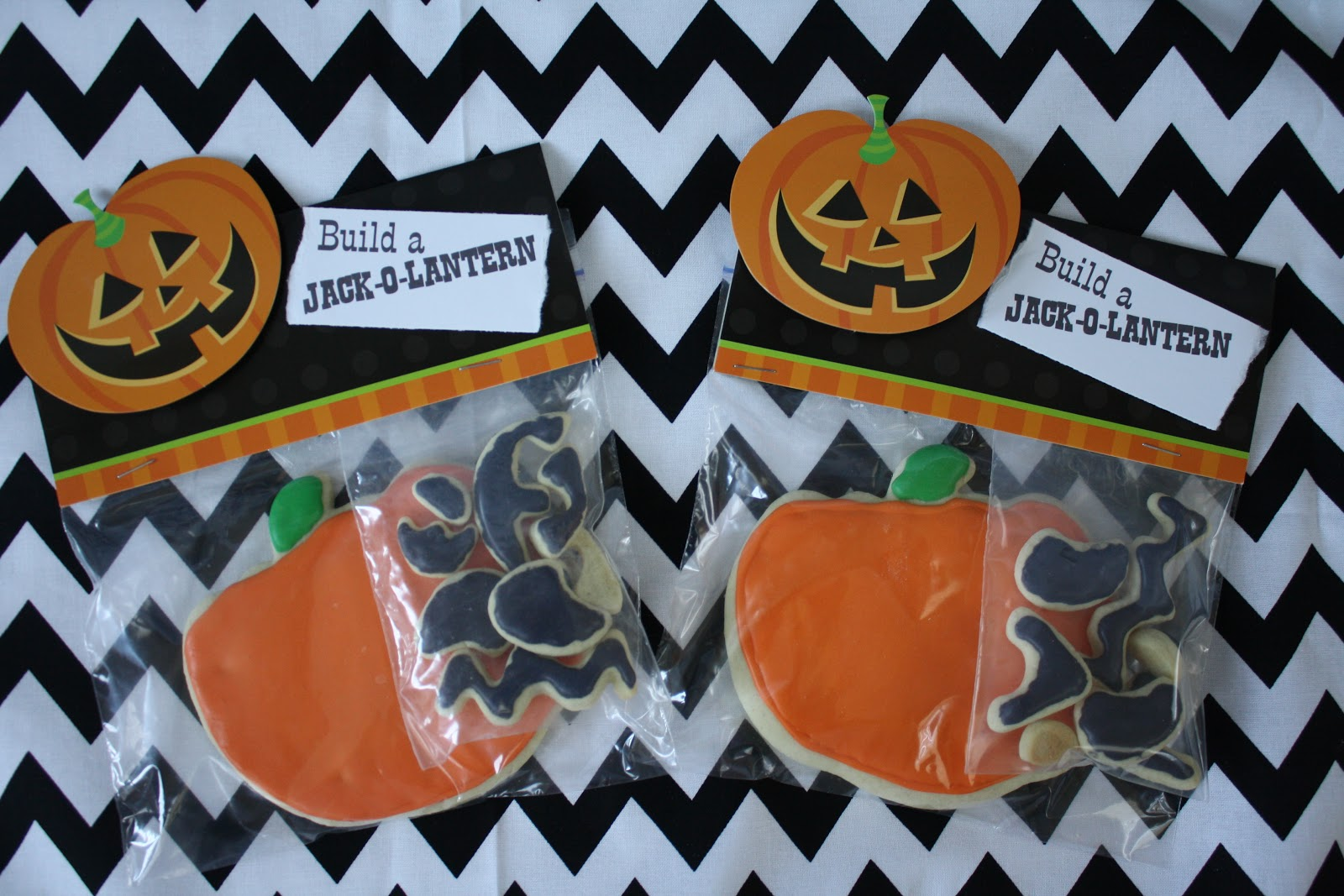 Build A Jack O Lantern Cookie The Red Balloon