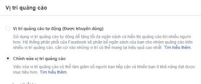 Phân Loại Quảng Cáo Facebook Dựa Trên Vị Trí Hiển Thị (Placements) 1