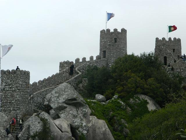 Castelo dos Mouros Moorish Castle Sintra Portugal