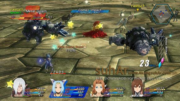 Download GAME PC Star Ocean The Last Hope 4K Full HD Remaster full crack