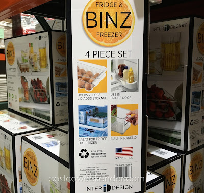 Easily find food with InterDesign Fridge & Freezer Binz