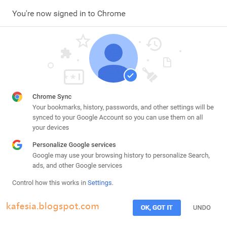 konfirmasi google