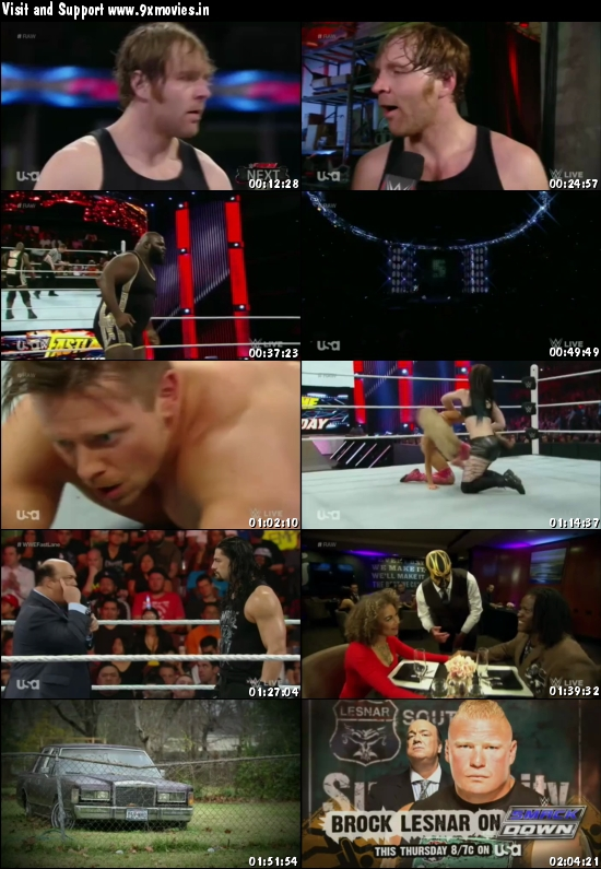 WWE Monday Night Raw 15 Feb 2016 HDTV 480p