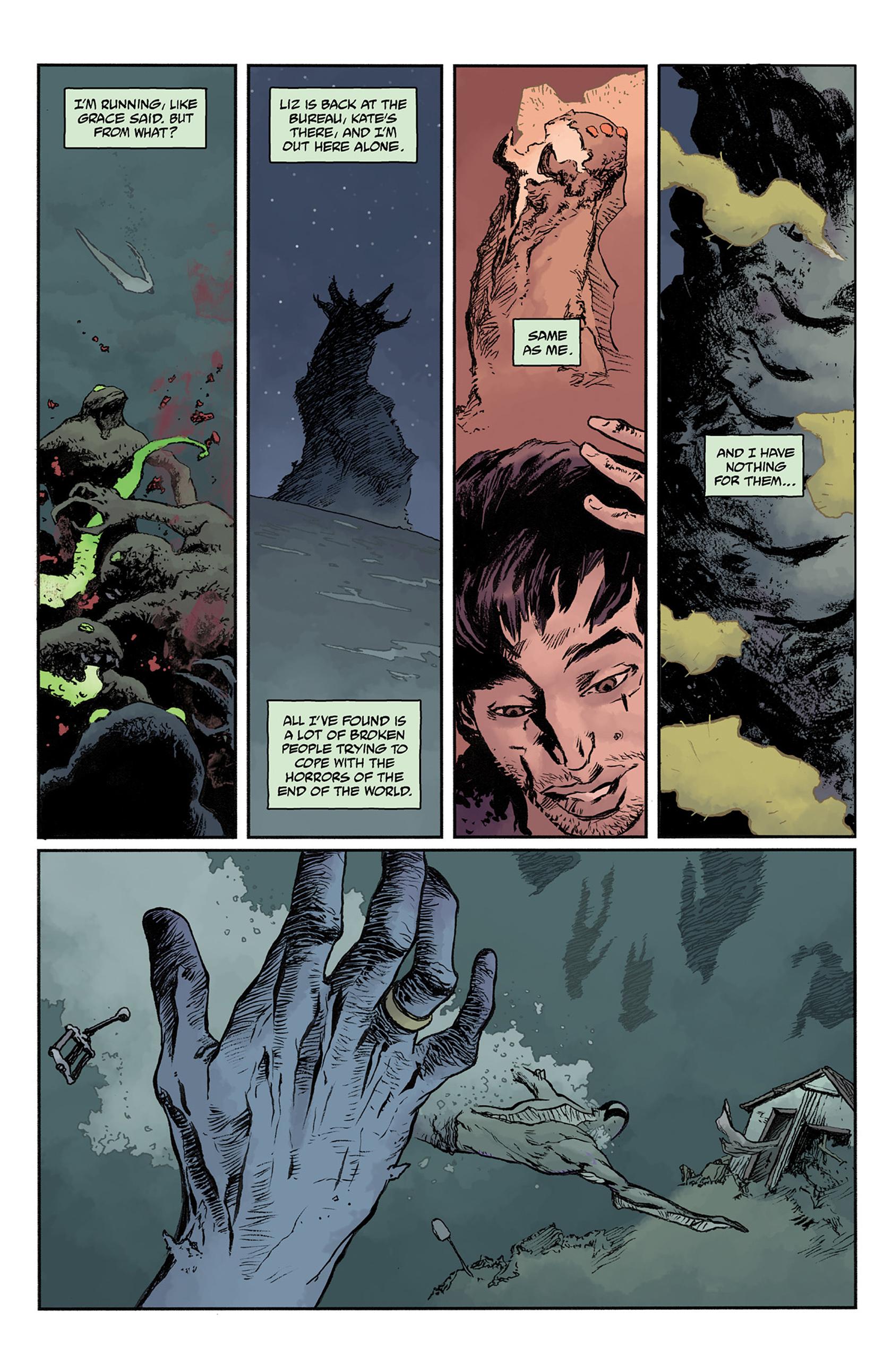 Read online Abe Sapien comic -  Issue #24 - 20