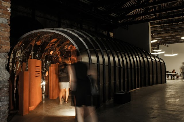 Macedonian pavilion presents no man's land at the venice biennale